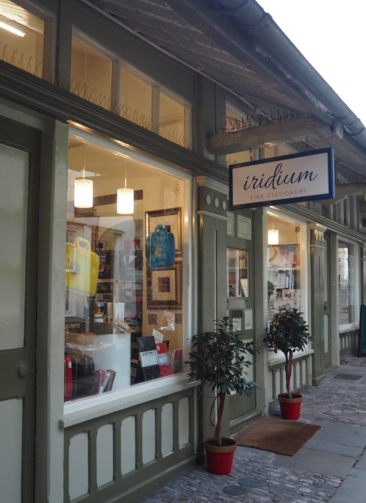 Iridium Fine Stationery, Kendal