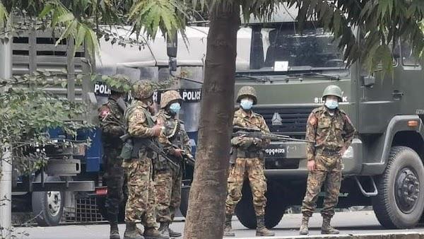 10 Kelompok Etnis Bersenjata Bersatu Menolak Kediktatoran Militer Myanmar