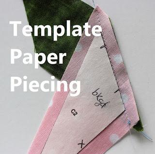 freezer paper template piecing-paper piecing-quilt piecing-quilt tutorial