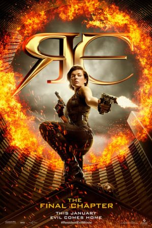 Been To The Movies Resident Evil The Final Chapter Official