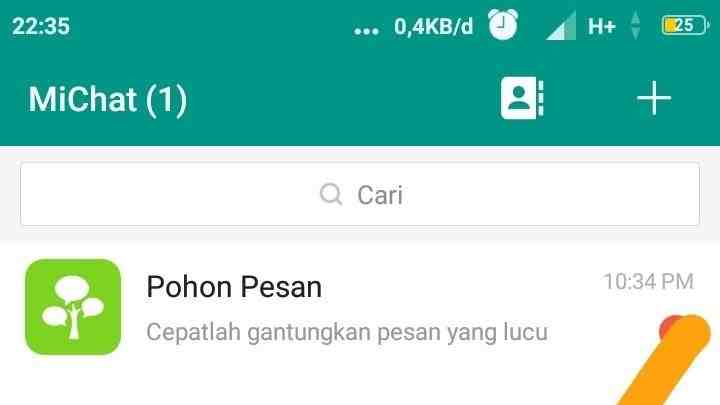 Cara mengubah ID MiChat