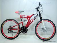 1 Sepeda Gunung FLORIDA AVANZA 18 Speed 26 Inci