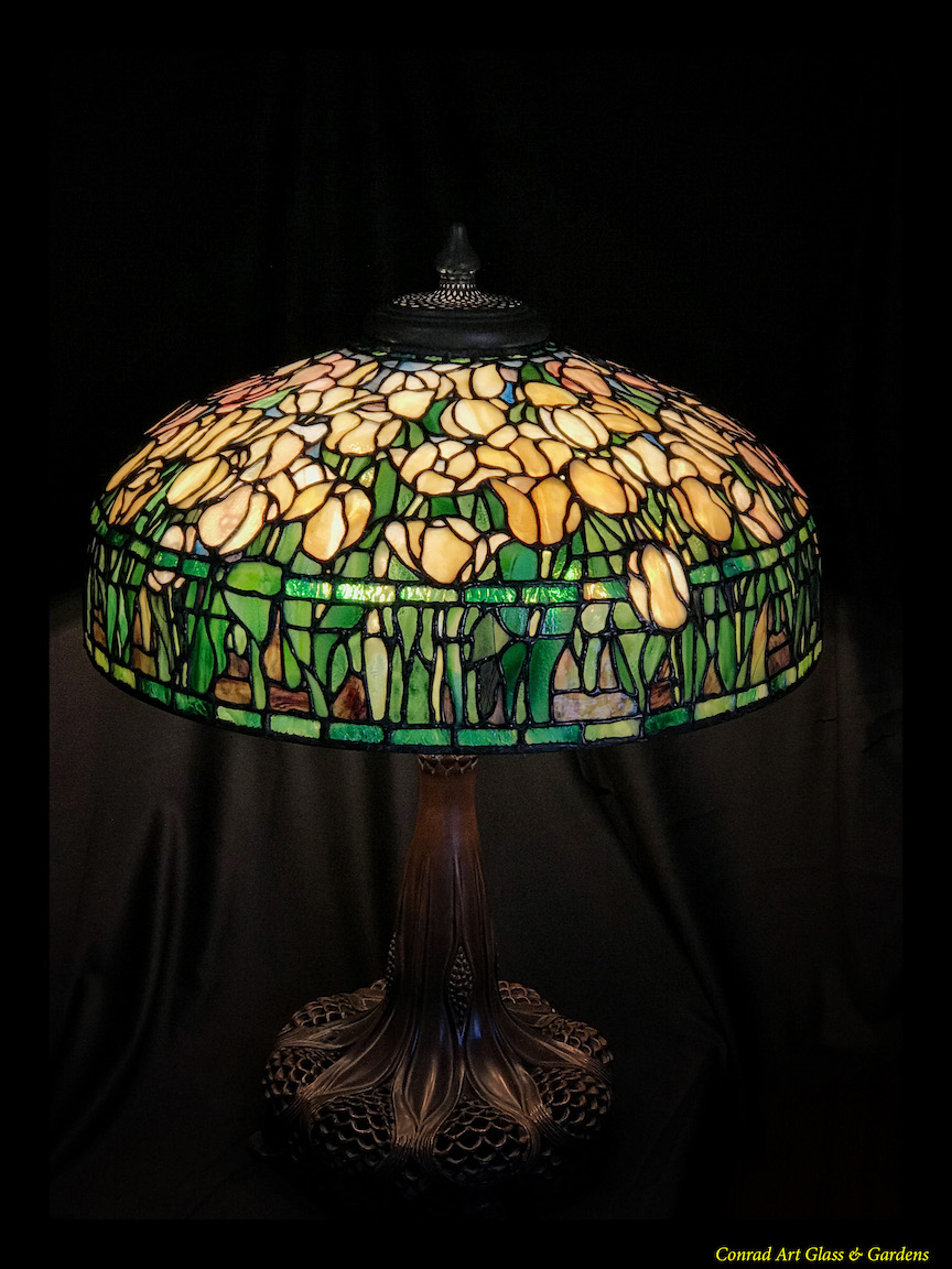 Glass Lamp Art Numerous Examples Of My Stained Glass Lamp Work Updated 3 19