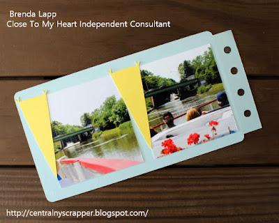 Mini Album for Happiest Place Blog Hop Page 4
