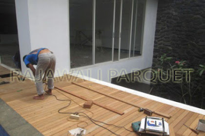 Project Pemasangan Decking Bengkirai Gianyar Bali