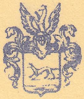 Briefwappen Wesendonck auf Brief vom 24.11.1874 (Dresden)