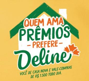 Cadastrar Promoção Margarina Deline 2021