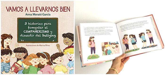 prevenir acoso escolar, cuento Vamos a llevarnos bien Anna Morató García