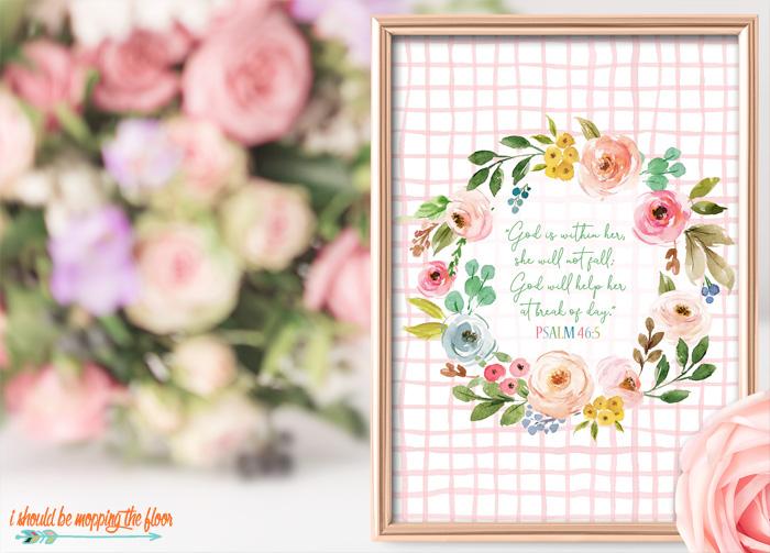 Psalm 46:5 Printables