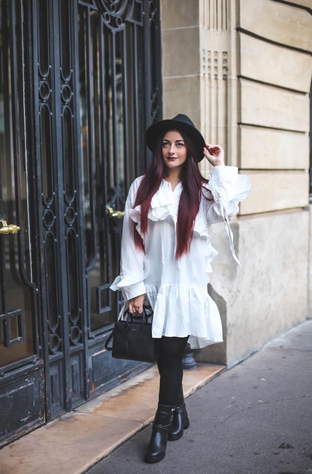 robe chemise oversize BLOG MODE PARIS