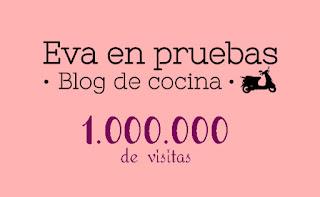 1 millón de visitas, madre que montón de gente mirando :)