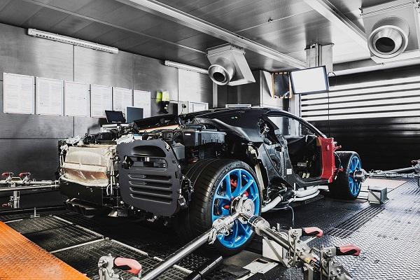 ¿Cómo se fabrica el Bugatti Chiron?