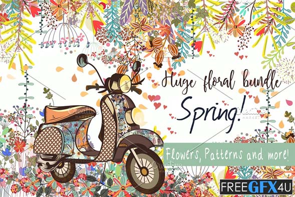 It's Spring! Vector And PNG Clipart