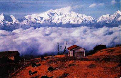 Sandakphu - Highest point of the Singalila Ridge in Darjeeling