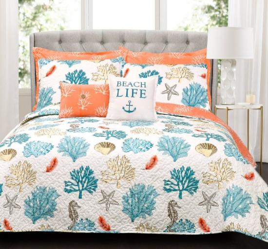 Coral Beach Bedding Set