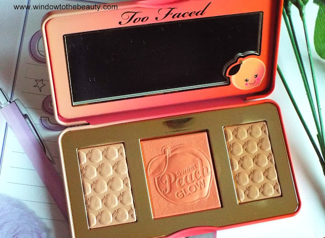 Too Faced blush, highlighter, bronzer swatches and review