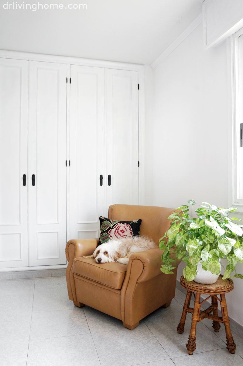 Un pequeño gran cambio en la decoración del dormitorio