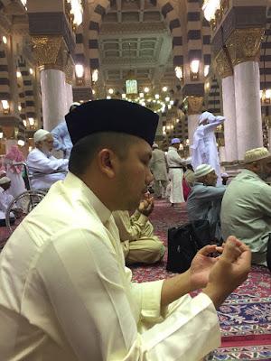 Ridho Doakan Kemajuan Lampung dari Mekah