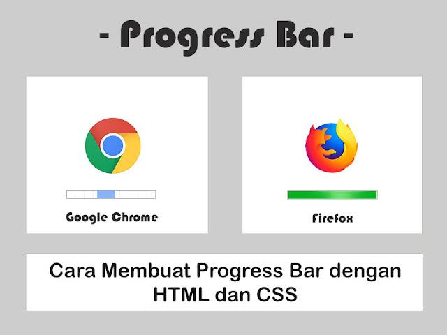 Cara Membuat Progress Bar dengan HTML dan CSS