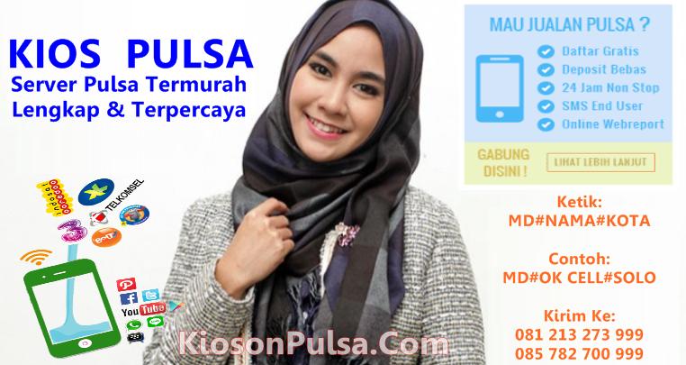 KiosonPulsa.com adalah Web Resmi Server Kios Pulsa CV Multi Payment Nusantara