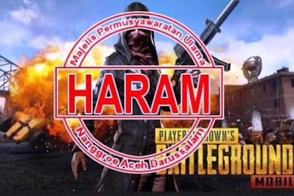 Viral, Resmi Fatwa Haram Pada Game PUBG di Aceh, Akankah Diblokir? Cek Faktanya.