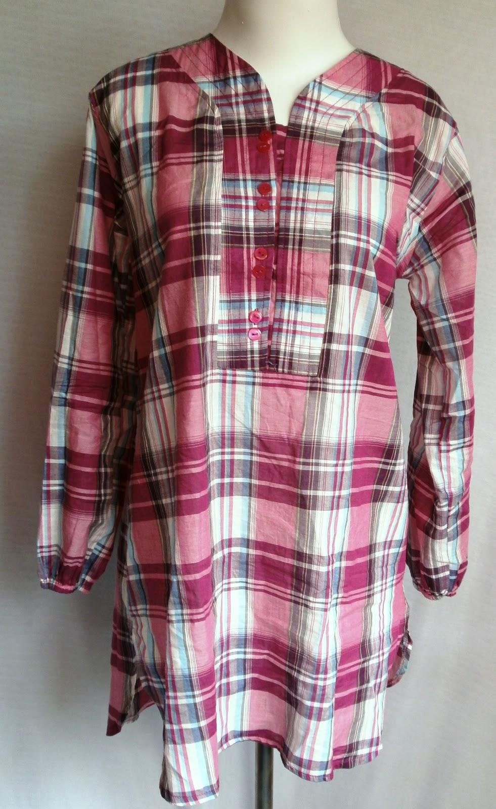 Blouse Katun Kotak | Grosir Baju murah Tanah Abang