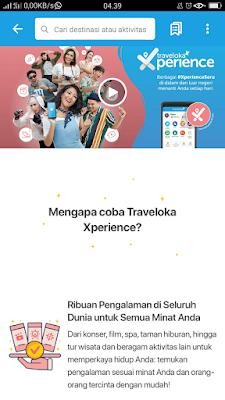 Fitur Terbaru Traveloka Xperience