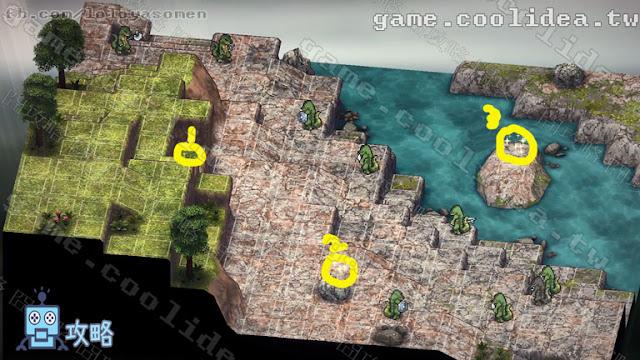 Mercenaries Blaze 傭兵烈焰 黎明雙龍攻略 第08章 戰場地圖