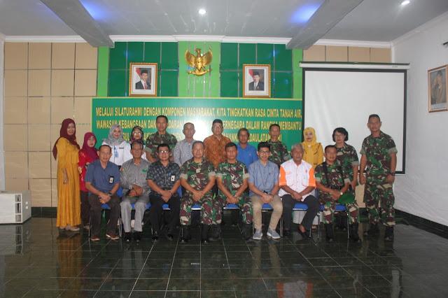 Hubdam II/Swj : Komsos Diharapkan Wujudkan Kemanunggalan TNI - Rakyat