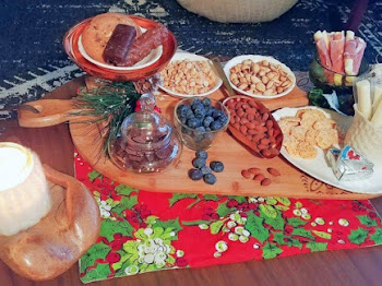 Christmas Movie Night Keto Charcuterie Board