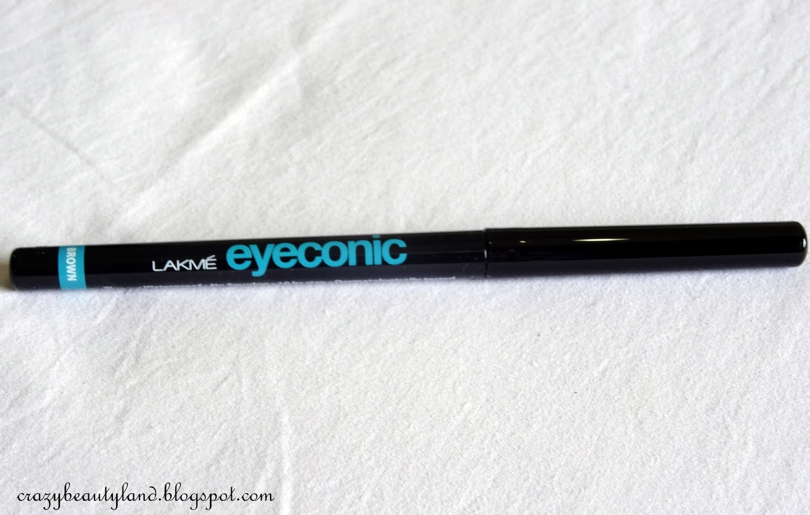 Lakme Eyeconic 10 Hr Kajal in Brown- Review,Price, Swatches, Photos, EOTD, where to online, how to use