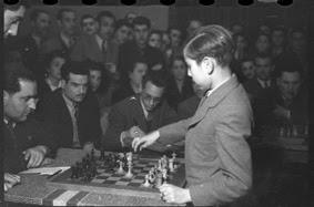 Simultáneas de Arturito Pomar en Lérida el 17 de abril de 1946 (3)