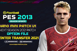 New Option File For HANO Mini Patch V1 - PES 2013