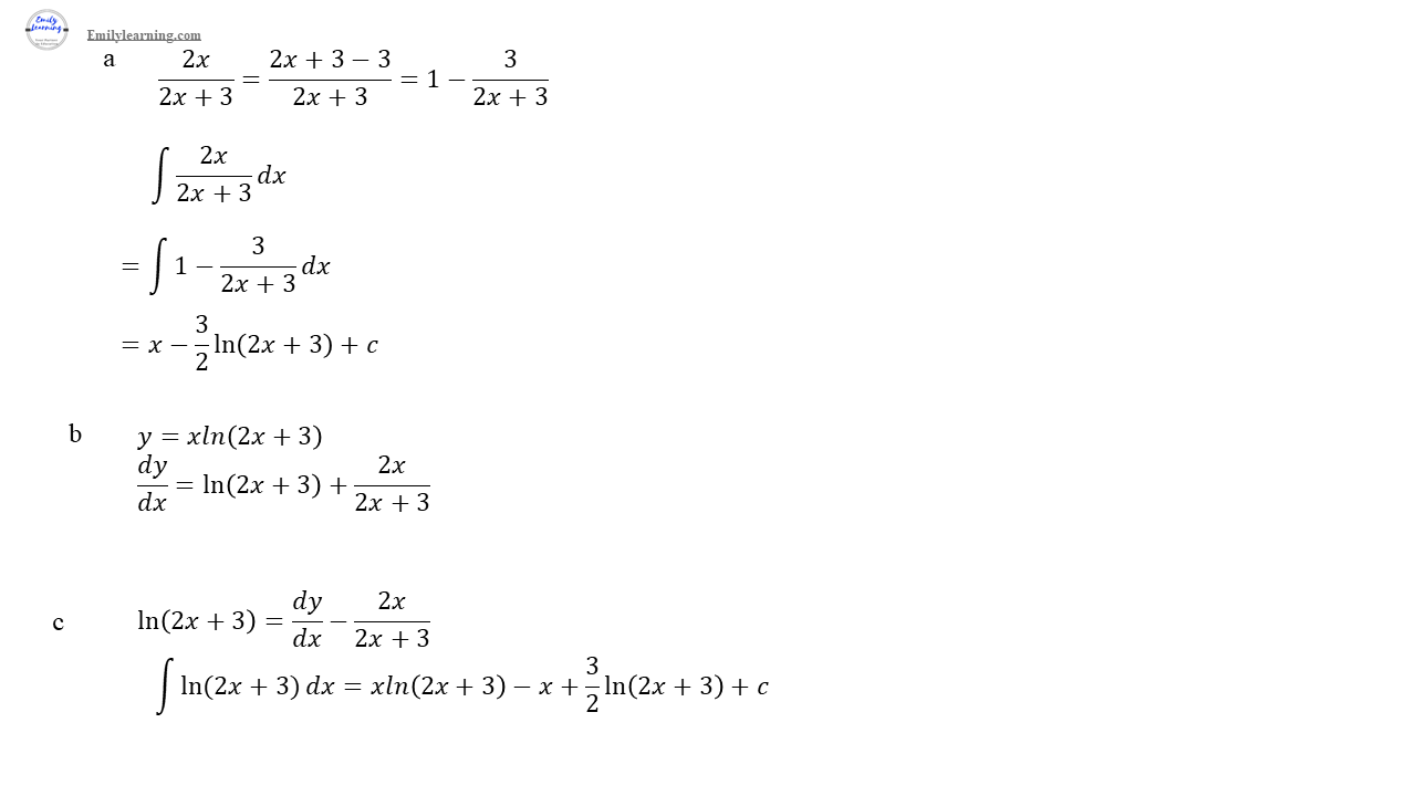 O level additional mathematics specimen paper 2 question 5: differentiation and integration as a reverse of differentiation