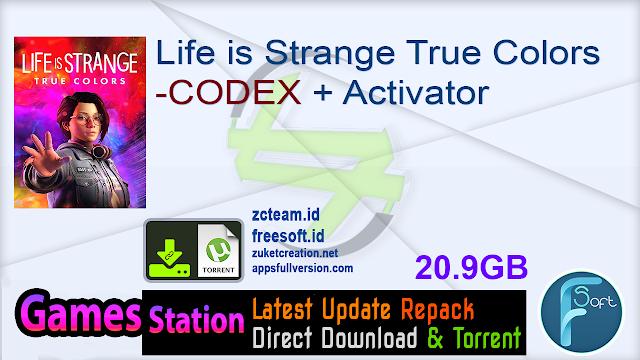 Life is Strange True Colors -CODEX + Activator