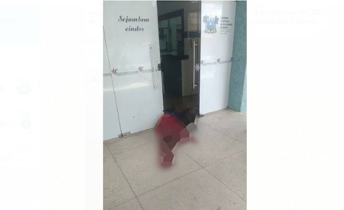 Tentativa de assalto a um vigilante no Hospital Rafael Fernandes em Mossoró, termina com um suspeito baleado