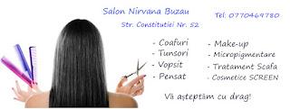 Blogul Salon Nirvana Buzau Salon Nirvana Buzau  Tel 0770469780  Str Constitutiei nr 52