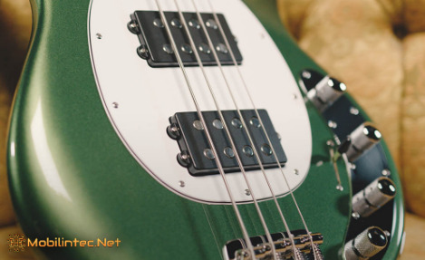 Types of magnetic pickups used on bass guitars