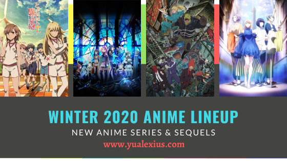 Winter 2020 Anime - A Certain Scientific Railgun T, Magia Record: Puella Magi Madoka Magica Side Story, Dorohedoro,Smile Down the Runway
