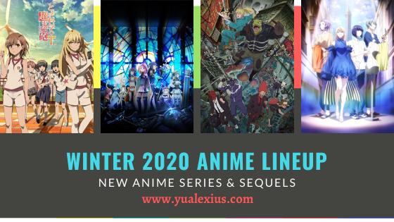 Winter 2020 Anime - A Certain Scientific Railgun T, Magia Record: Puella Magi Madoka Magica Side Story, Dorohedoro,Smile Down the Runway