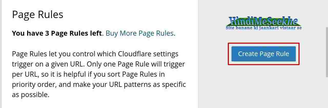 cloudflare-create-page-rule