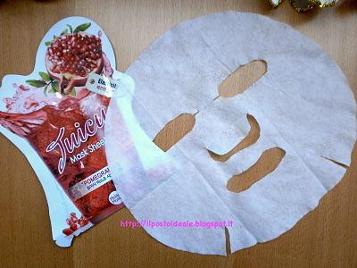 Skin18.com: Juicy Mask Sheet Pomegranate Holika Holika