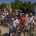 Bicicleteada proselitista en Seyé con Pili Santos y Zhazil Méndez
