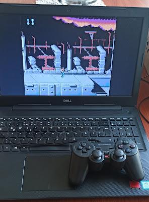 NES Atari Oyunları, USB/PC Gamepad Analog Oyun Kolu ve Windows 10 JNES Emulator Kurulumu