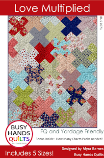 Love Multiplied Quilt Pattern by Myra Barnes of Busy Hands Quilts
