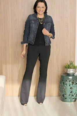 como usar jaqueta jeans no trabalho