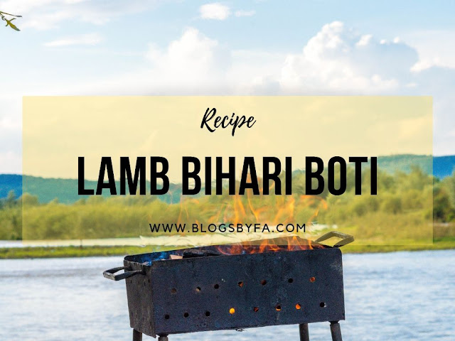 Lamb Bihari Boti Recipe