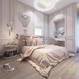 Shabby Chic Bedroom 1