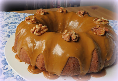 Coffee & Cardamom Bundt Cake