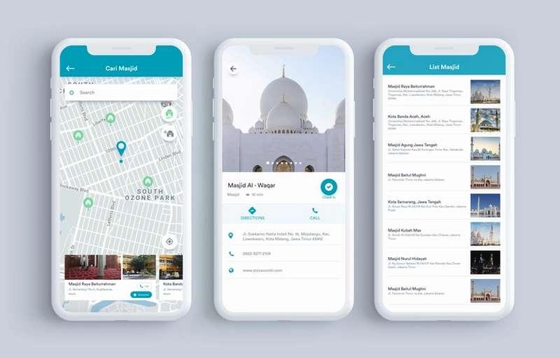 Aplikasi Islami di Android Terlengkap dan Bermanfaat (dribbble.com)